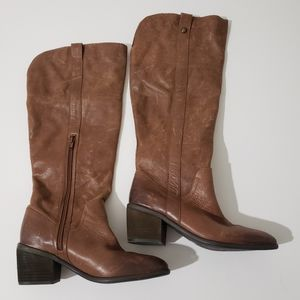 Vince Camuto Mordona Leather boots Size 7 1/2